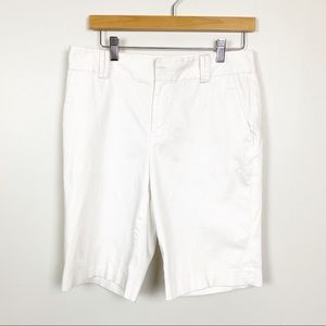 LAUREN Ralph Lauren Shorts White Bermuda Long